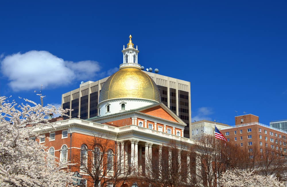 Massachusetts State House which is located in the Beacon Hill neighborhood of Boston is the state capitol and house of government of Massachusetts.
