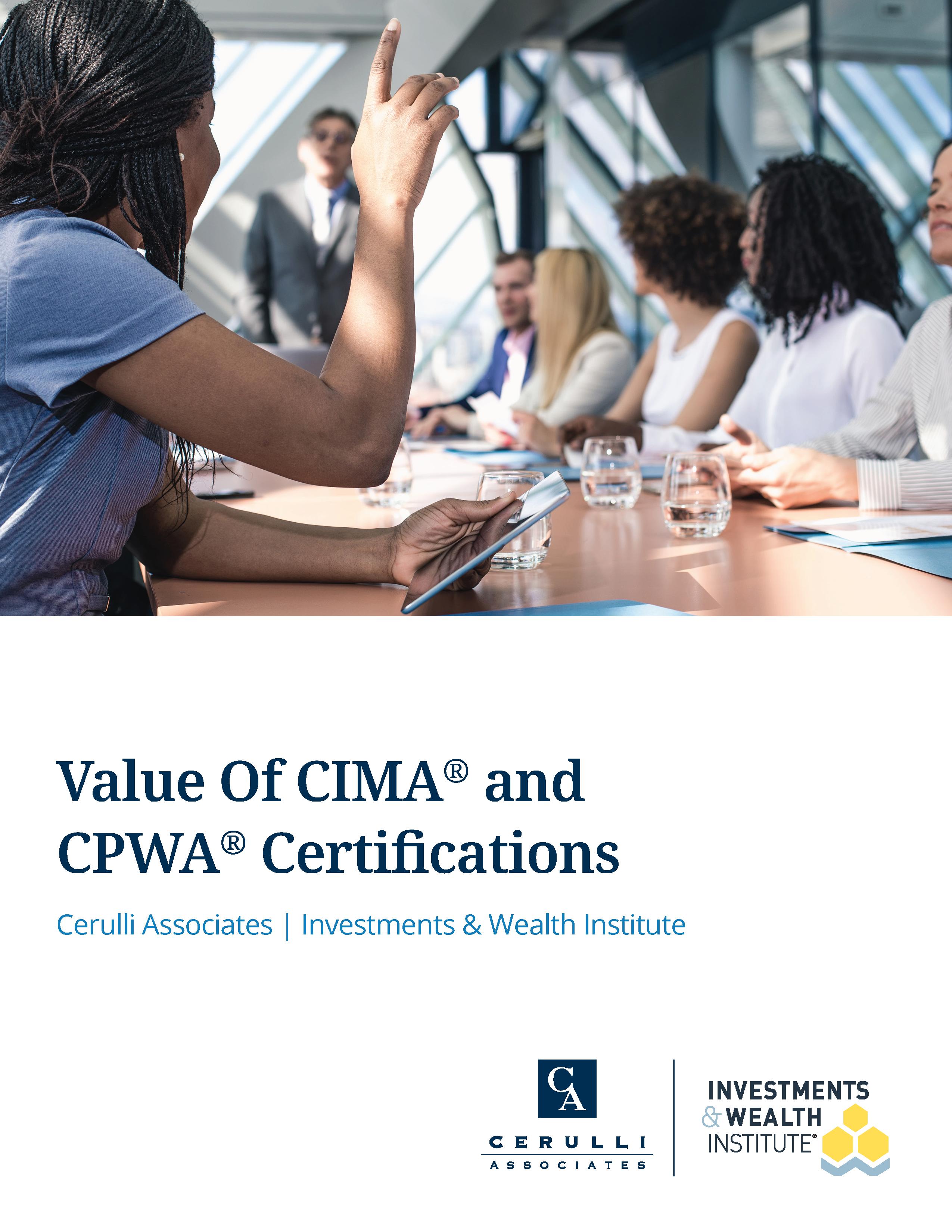 2020 CIMA CPWA Cover